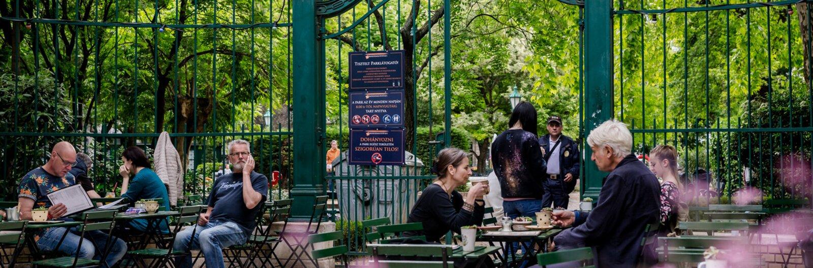 Budapest's best garden bars and restaurants