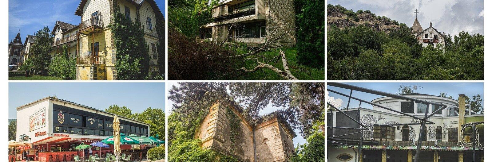 Hét különleges balatoni épület, amit szívesen látnánk megmentve