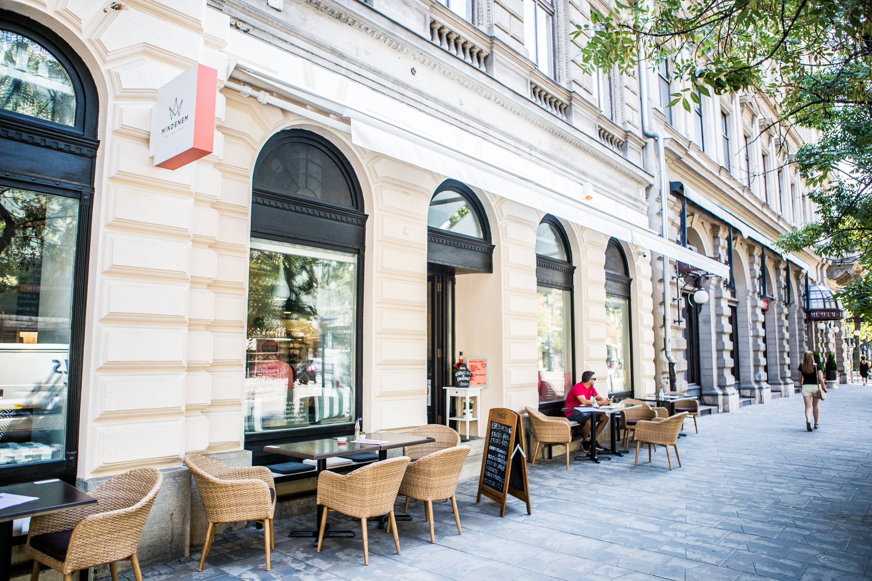 Mindenem – Budapest's new spot for breakfast, lunch and post-work drinks