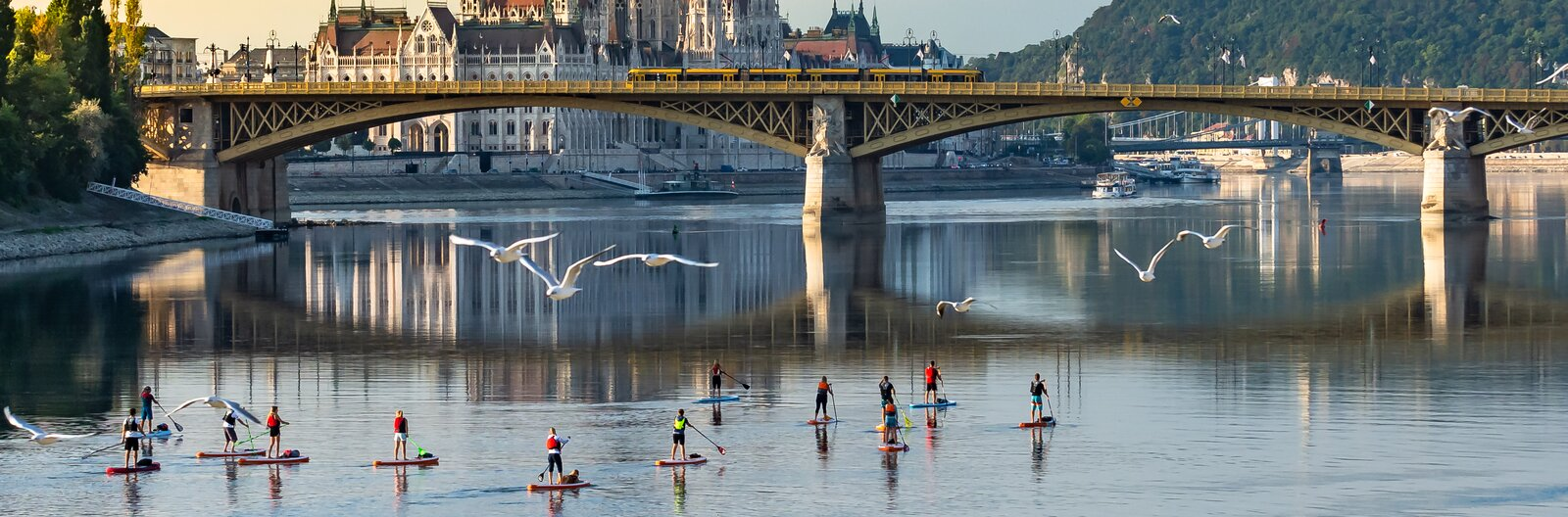 11 top places for water sports around Budapest