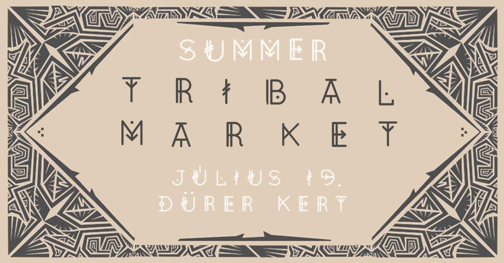 Summer Tribal Market 2020