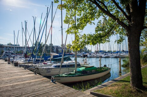 Marina of Balatonszemes