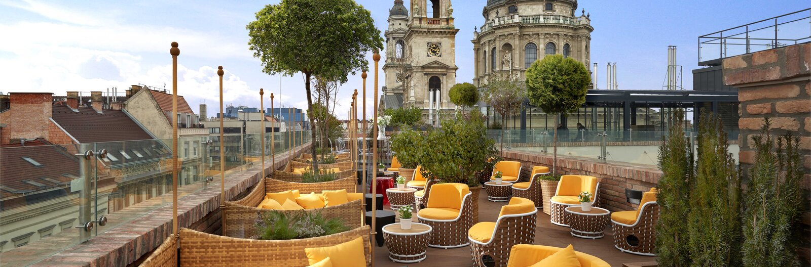The best rooftop bars in Budapest