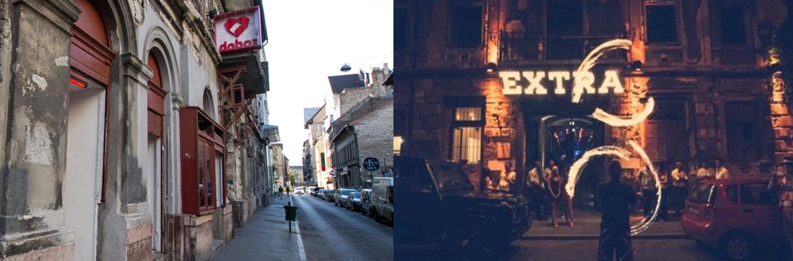 District VII's Klauzál Street is a day-and-night Budapest hotspot