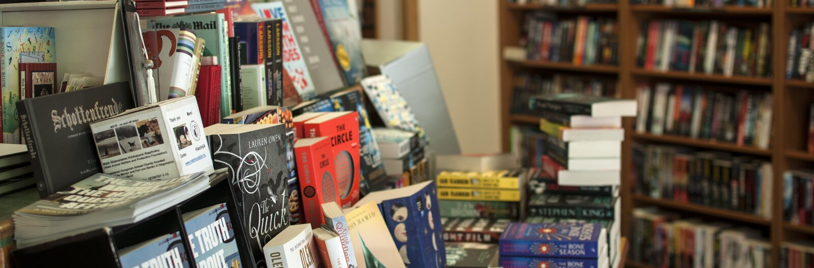 A roundup of English-language bookstores in Budapest