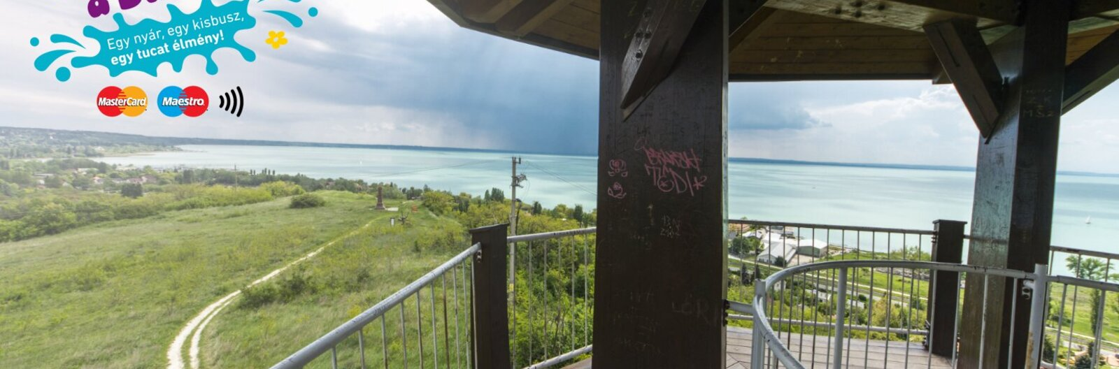 Balaton's observation towers offer jaw-dropping vistas