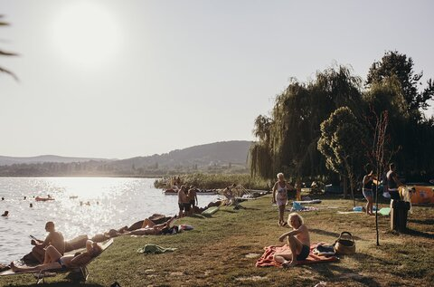 Pálkövei strand