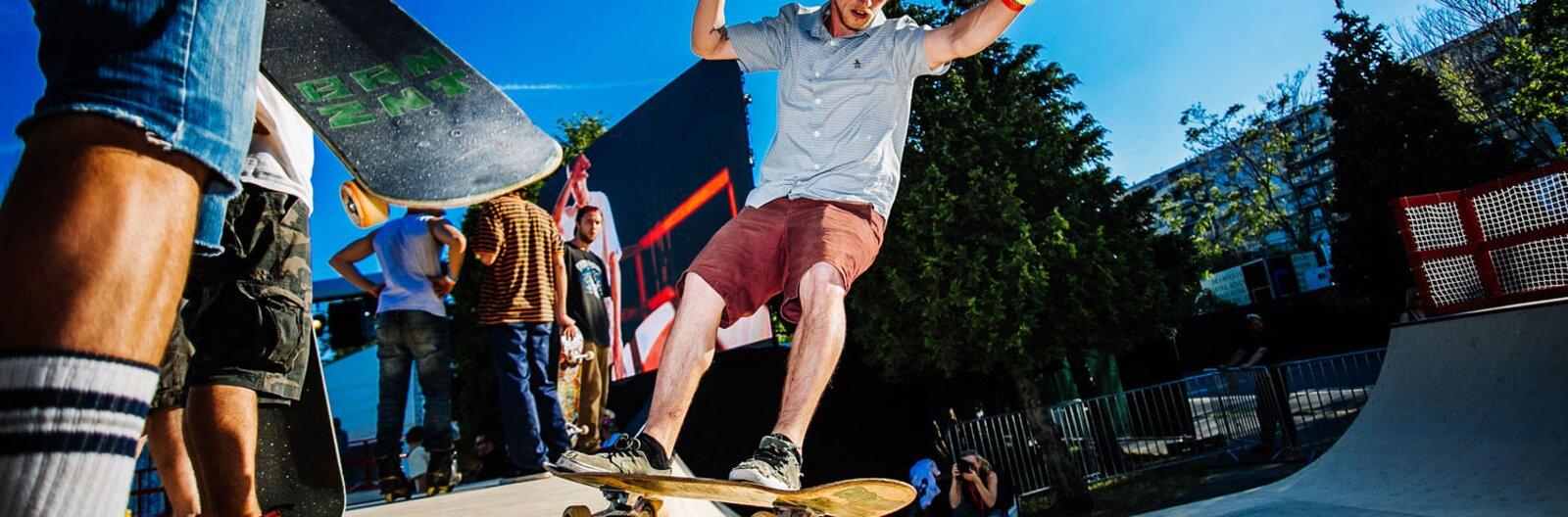 The best skateparks in Budapest