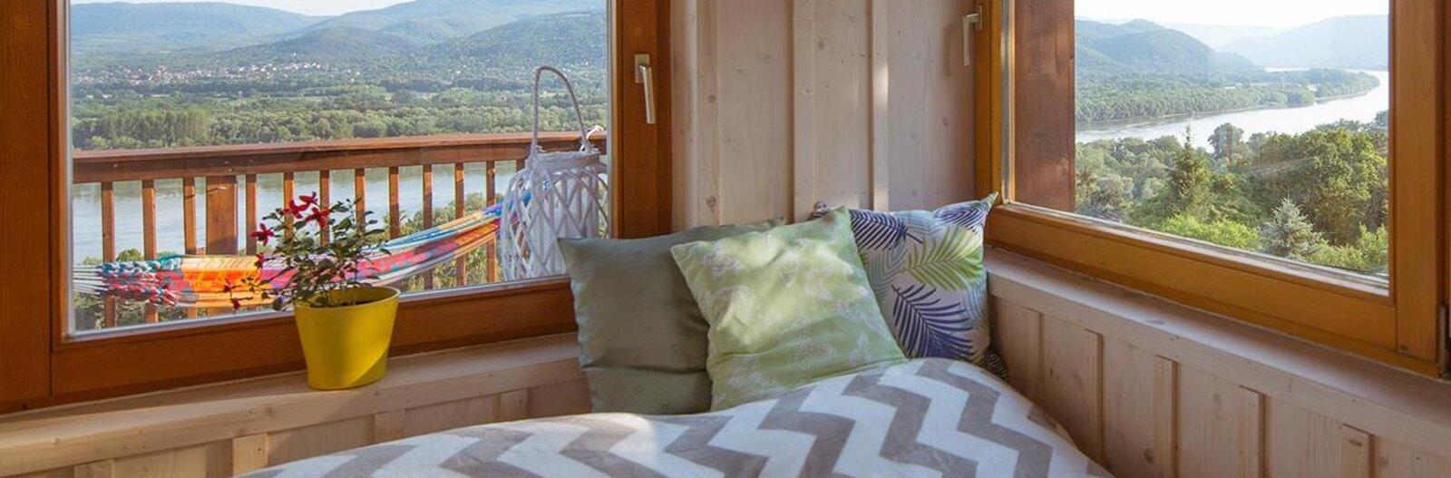 7 különleges szállás a Dunakanyarban, ha számít, hol alszol