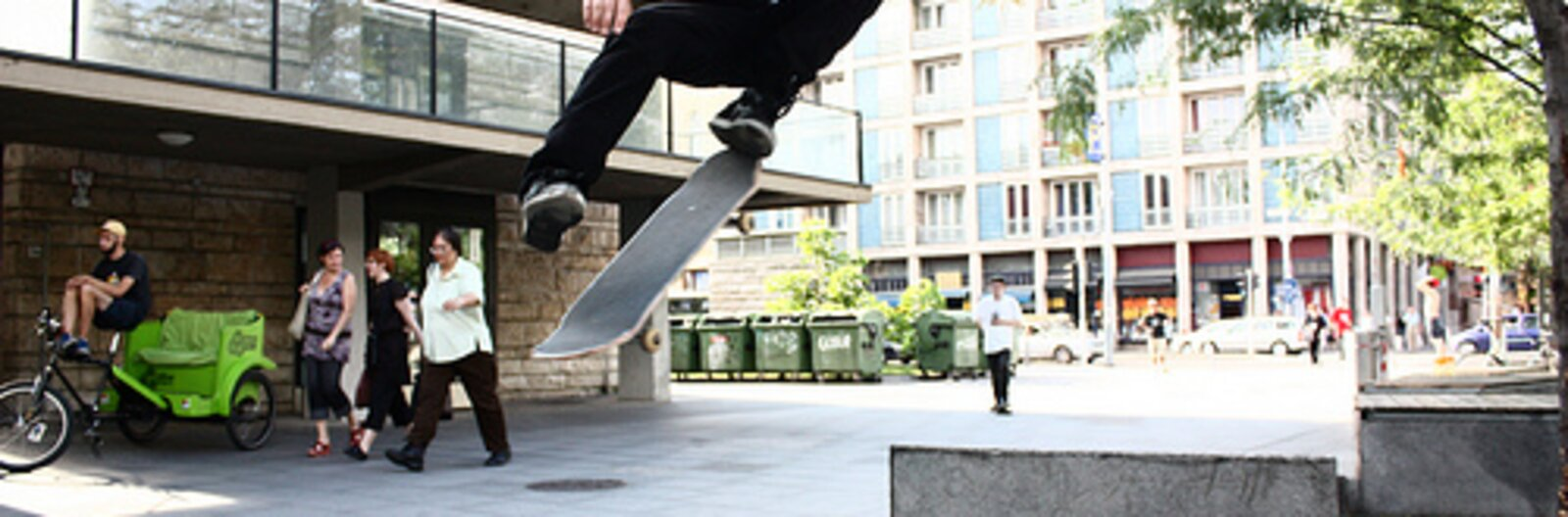 Summer places for skating in Budapest