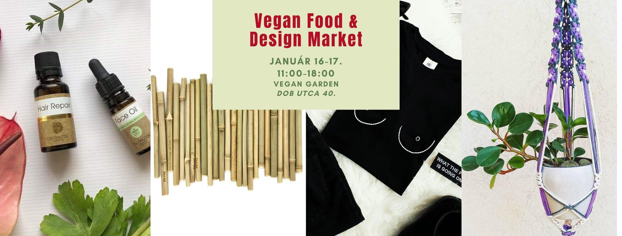 Vegan Food & Design Market