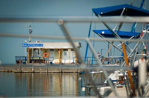 Balatonlellei vitorláskikötő