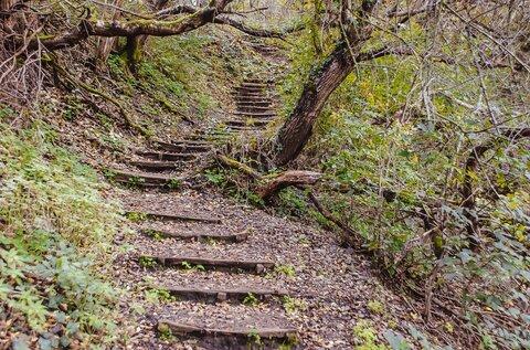 Bujdosók lépcsője