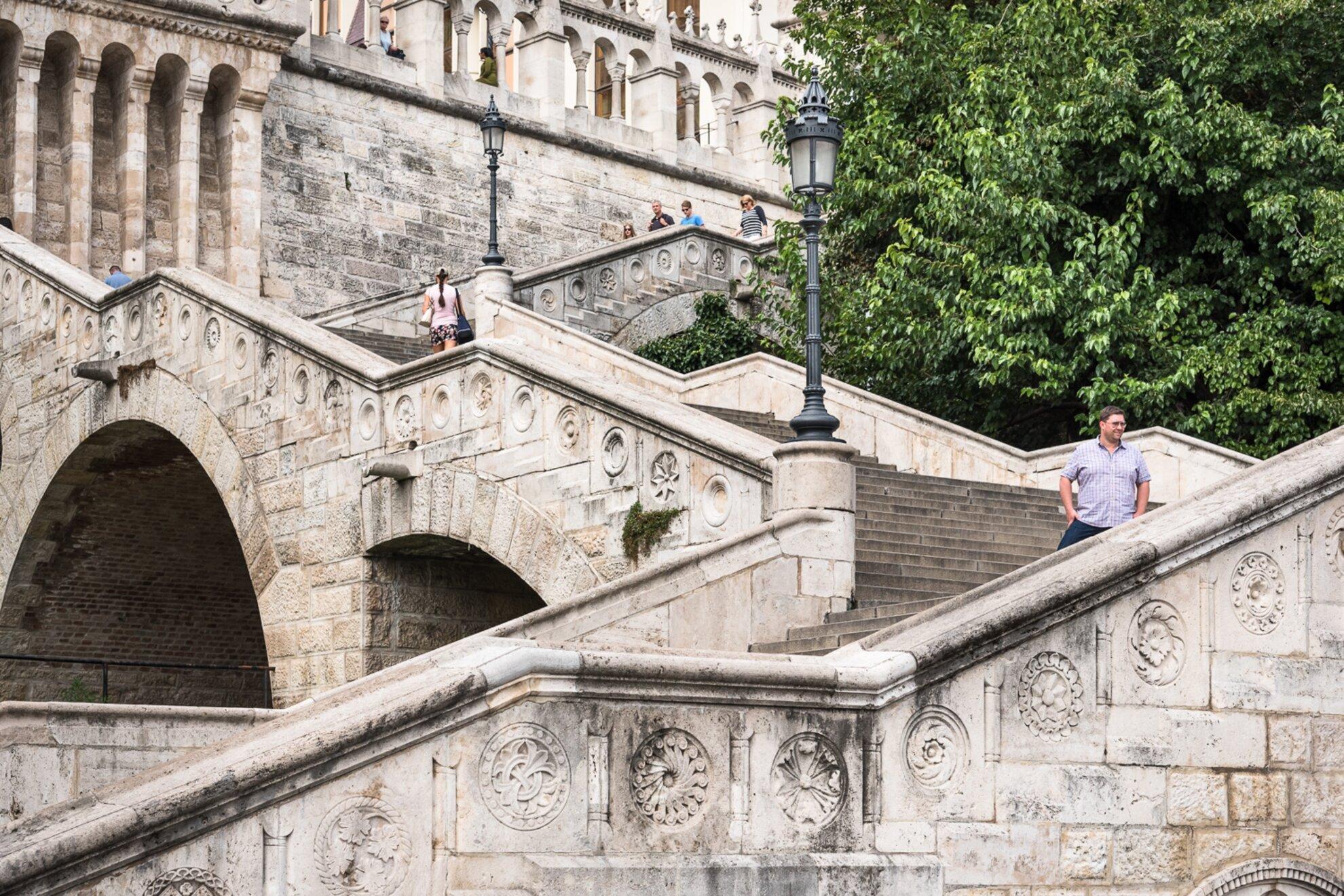 A Budai Vár legszebb lépcsősorai