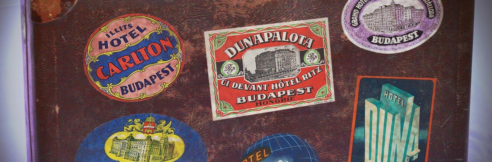 Budapesti koffermatricák a múltból