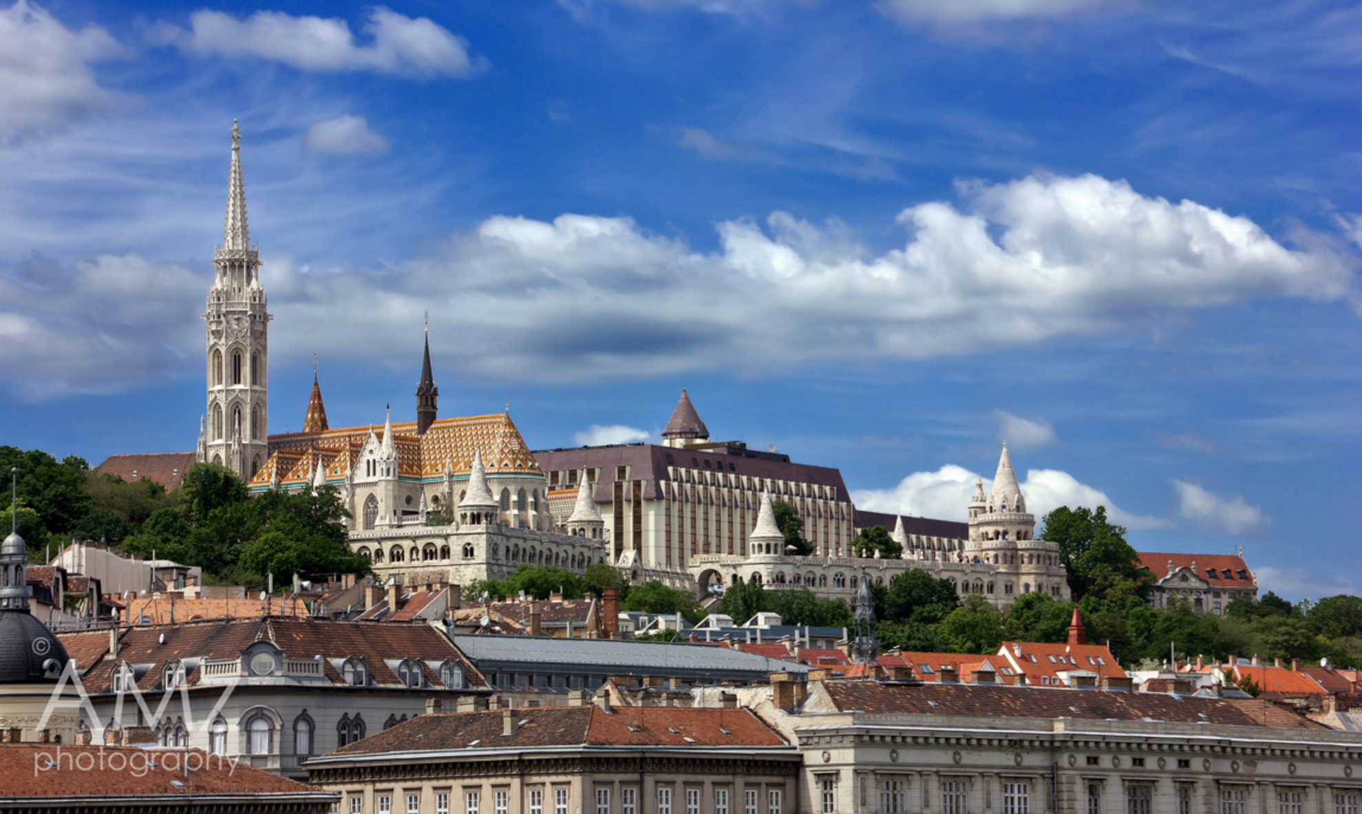 A guide for the First District of Budapest