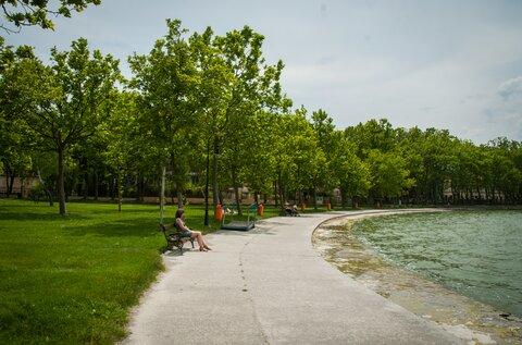 Balatonföldvár Központi szabadstrand