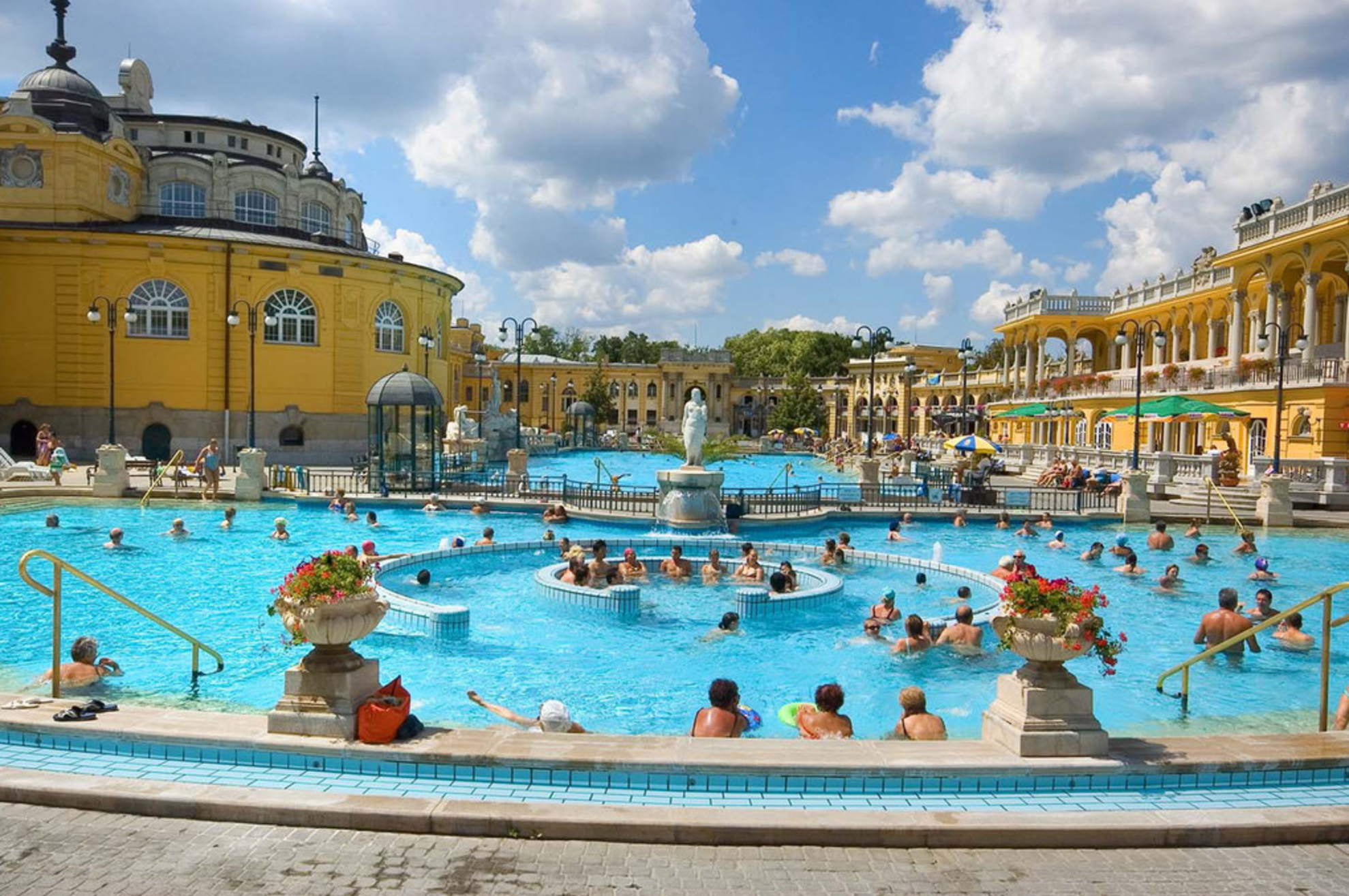 The best thermal baths in Budapest