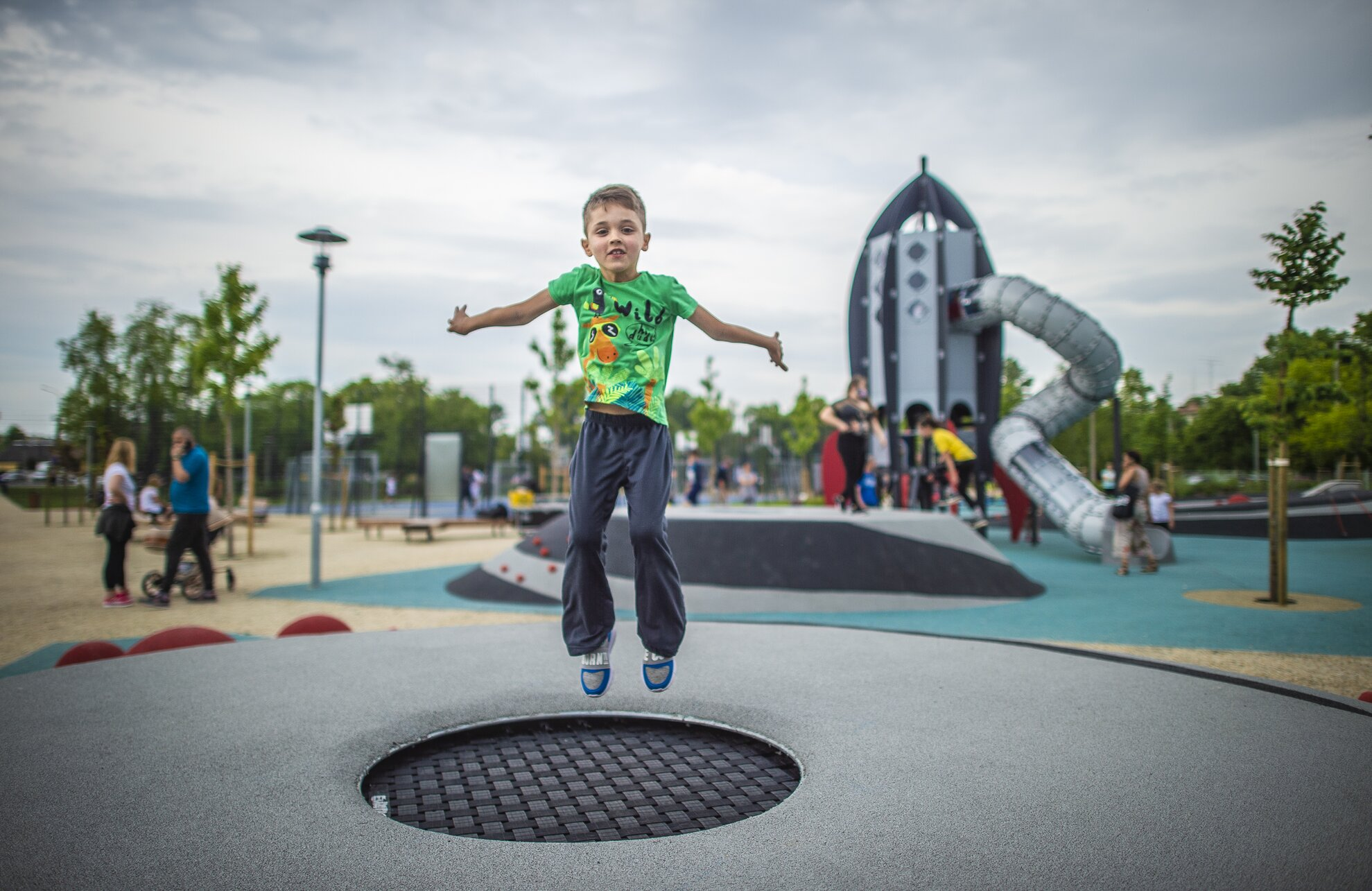New Budapest playground offers kids a ticket to the stars