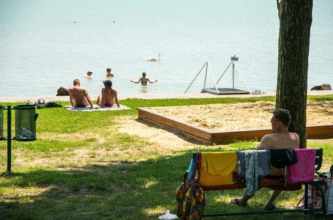 Révfülöp Szigeti strand