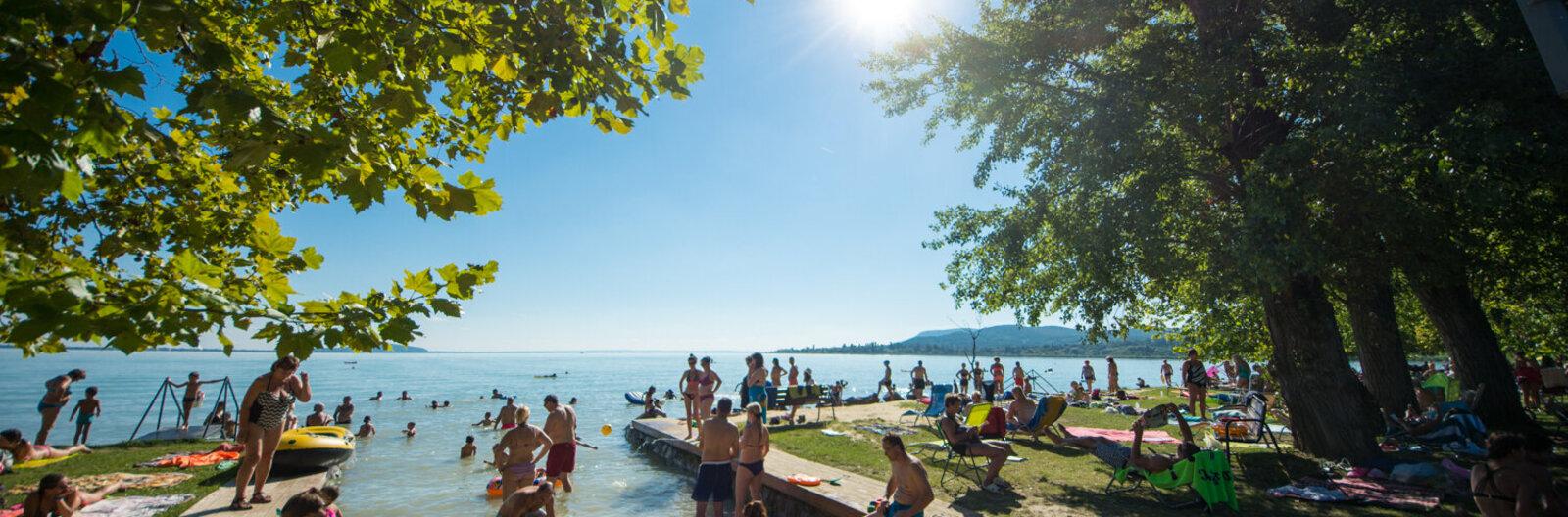 Hol éljük túl a hőségriadót Balatonon? – 5 tipp, merre hűtsük le magunkat