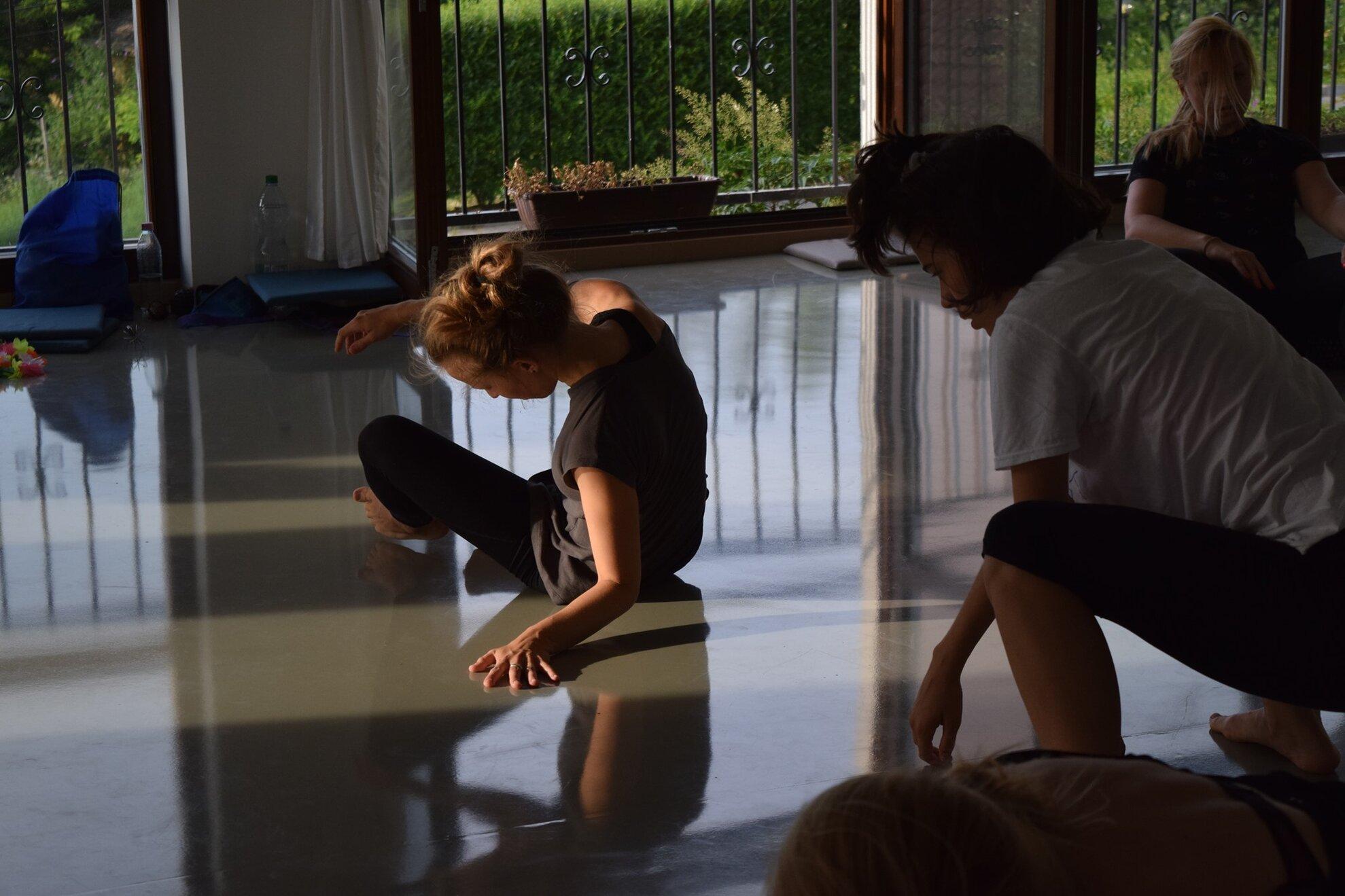 Sejtedzés - dance impro training