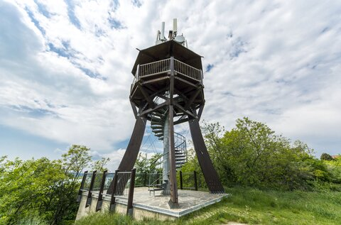 Observation tower on Soós-hegy