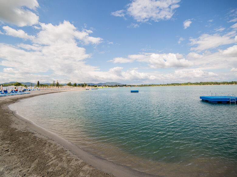 Soak up summery seaside vibes near Budapest as Lupa Beach ...