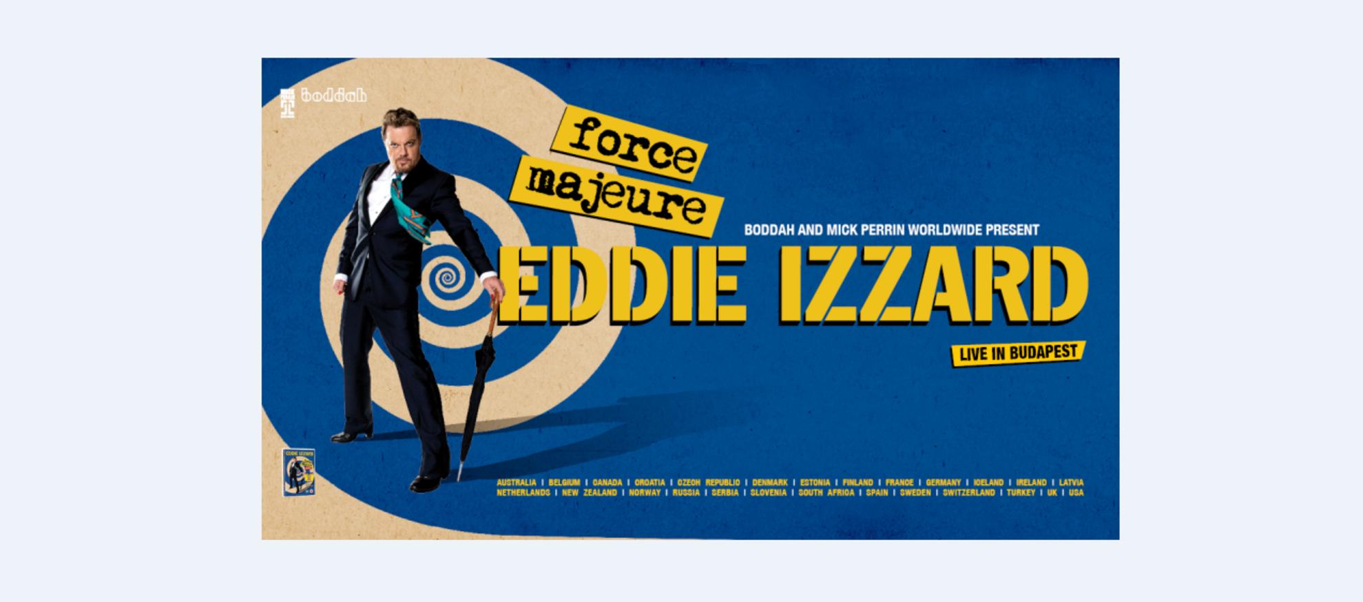 Eddie Izzard - Force Majeure