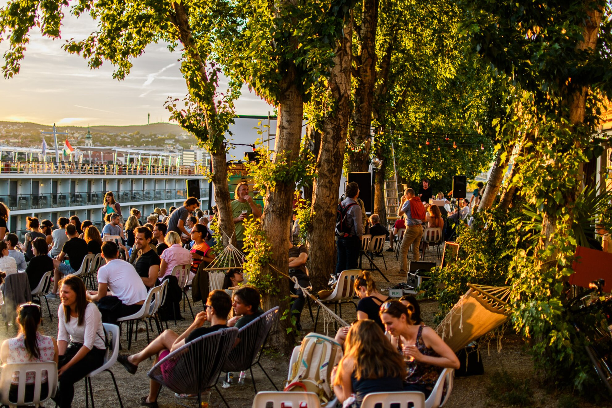 9 top spots to party alfresco in Budapest this September