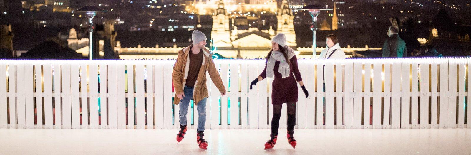 Ezek Budapest legjobb szabadtéri korcsolyapályái