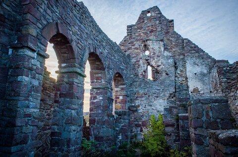 Ecsérpuszta church ruins