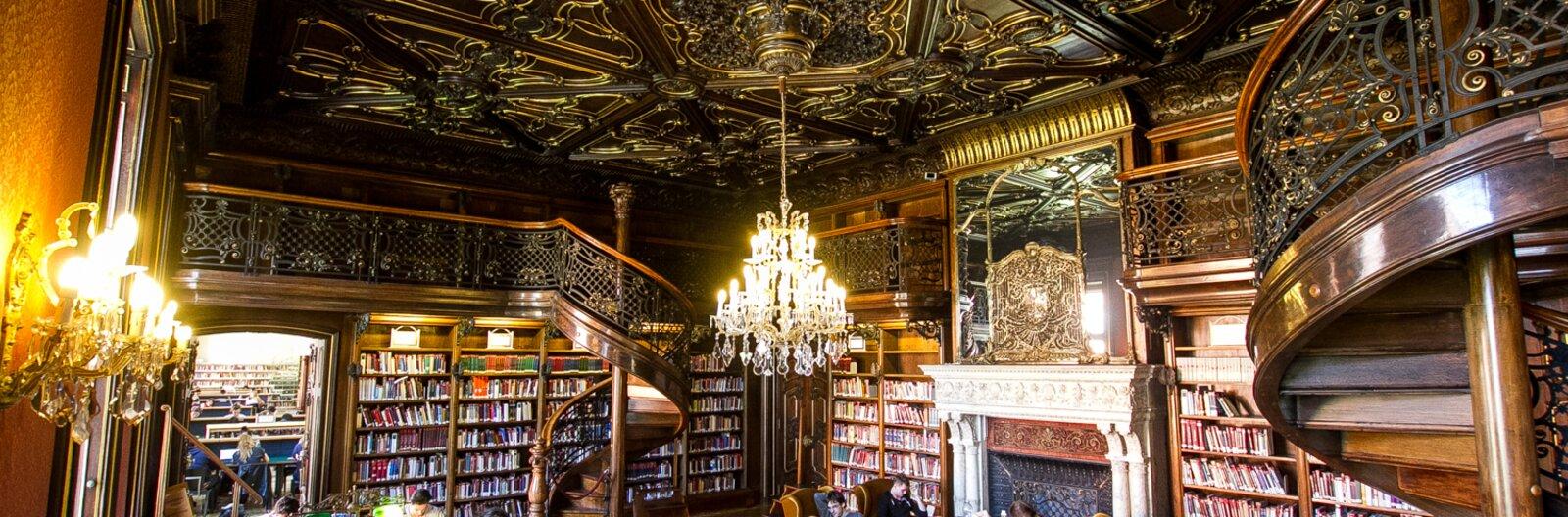 13 lenyűgöző budapesti könyvtár