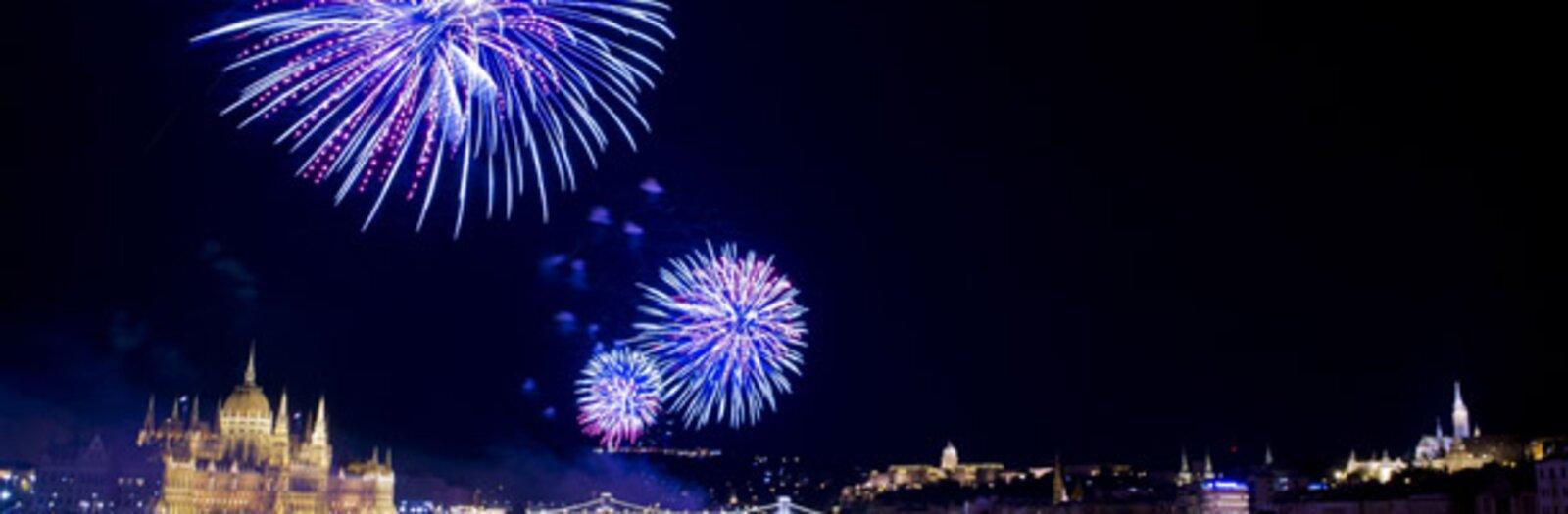 A legjobb tűzijátéknéző helyek Budapesten