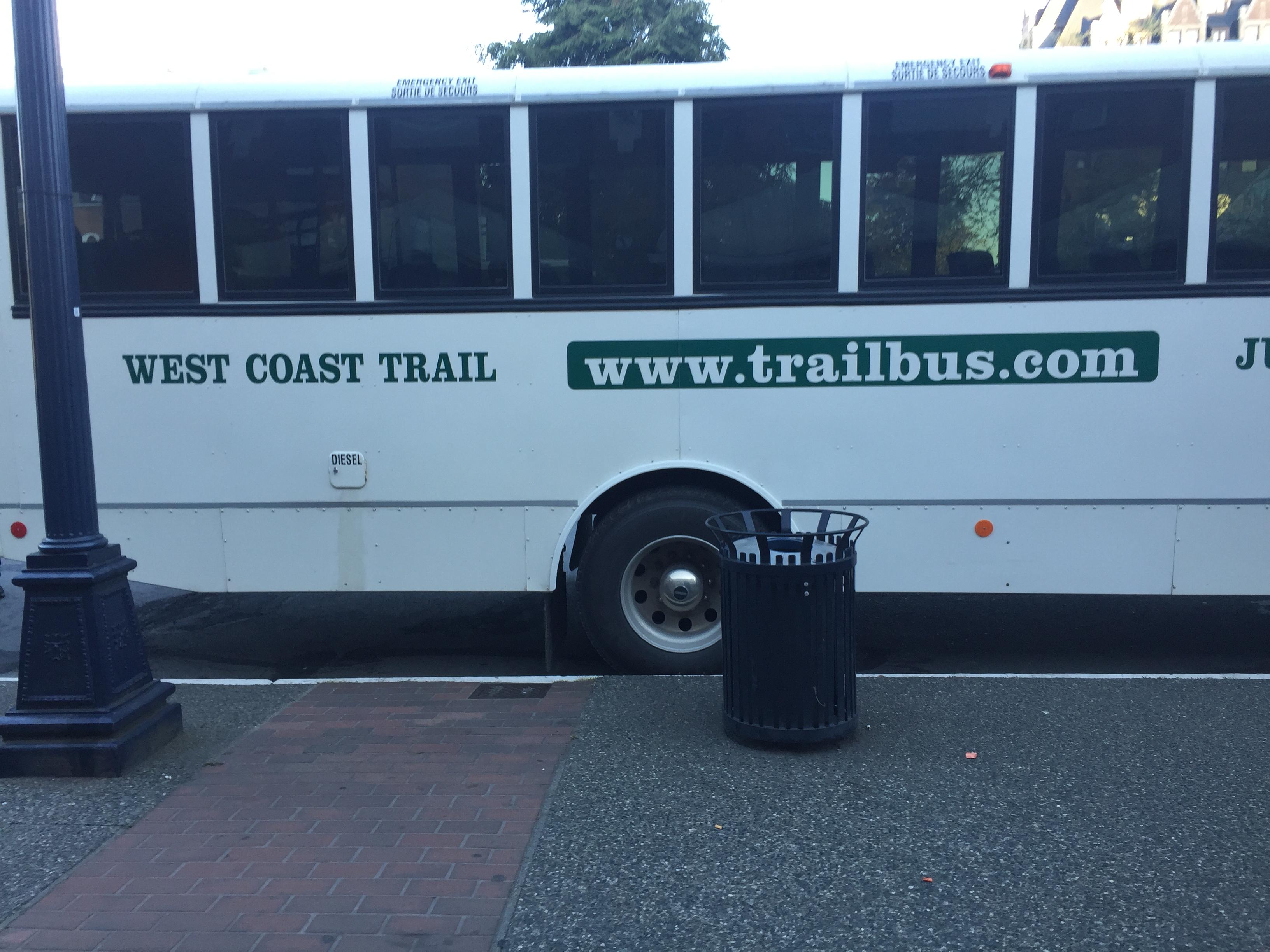 west coast trail bus