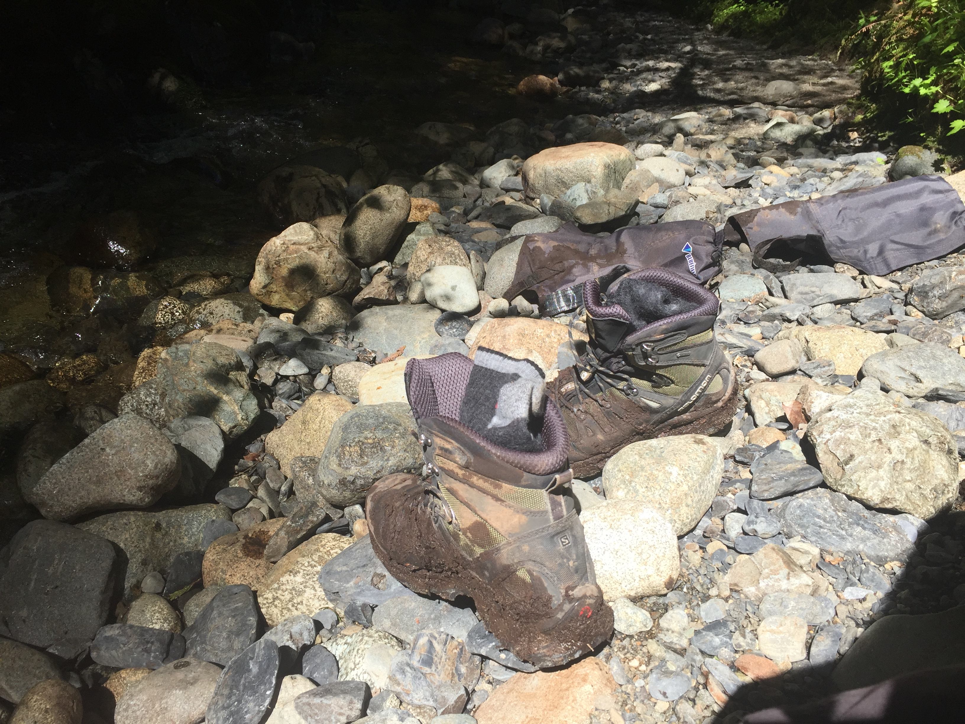 muddy boots on the WCT