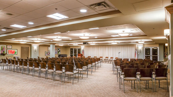 Event space at Westminster retirement community