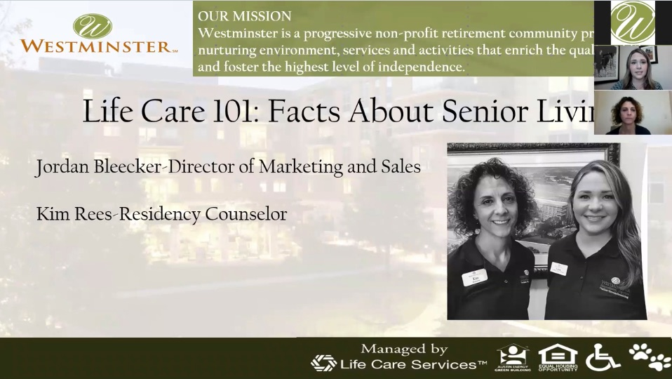Life Care 101  Facts About Senior Living