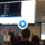 Ken Wheeler DJs using context in React at ReactBoston 2017