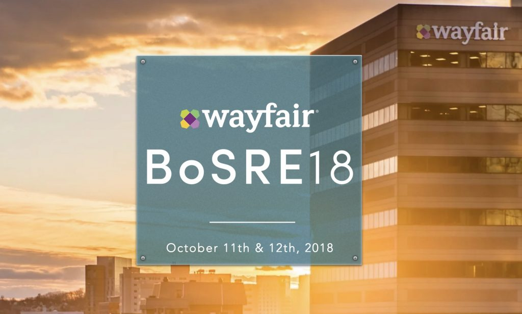 Announcing BoSRE: Wayfair's Inaugural Site Reliability Engineering Conference