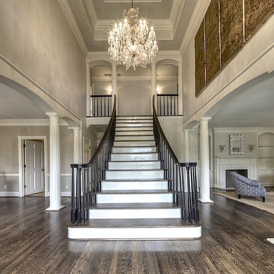 Curb Appeal Moves Indoors - Staircases