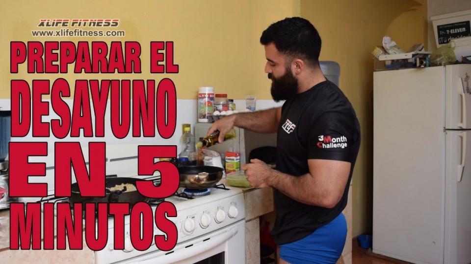 Receta Simple y Nutritiva Para Un Desayuno En Solo 5 Minutos