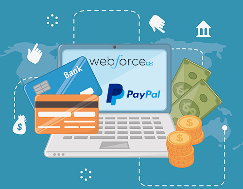 Webforce HQ Announcement: New Preferred Partner Integration with Braintree & Paypal