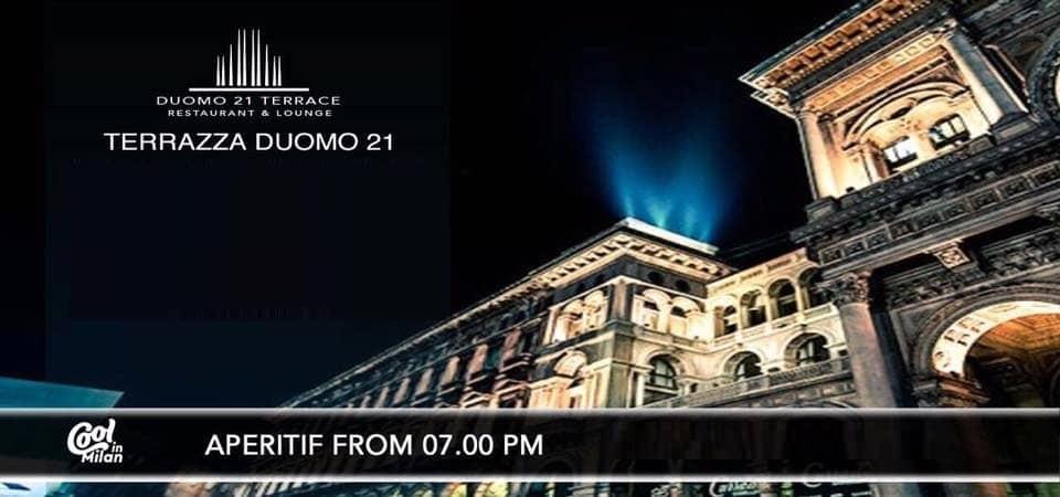 Duomo21 Terrazza Milano Venerdi 23 Novembre 2018 Whatsout