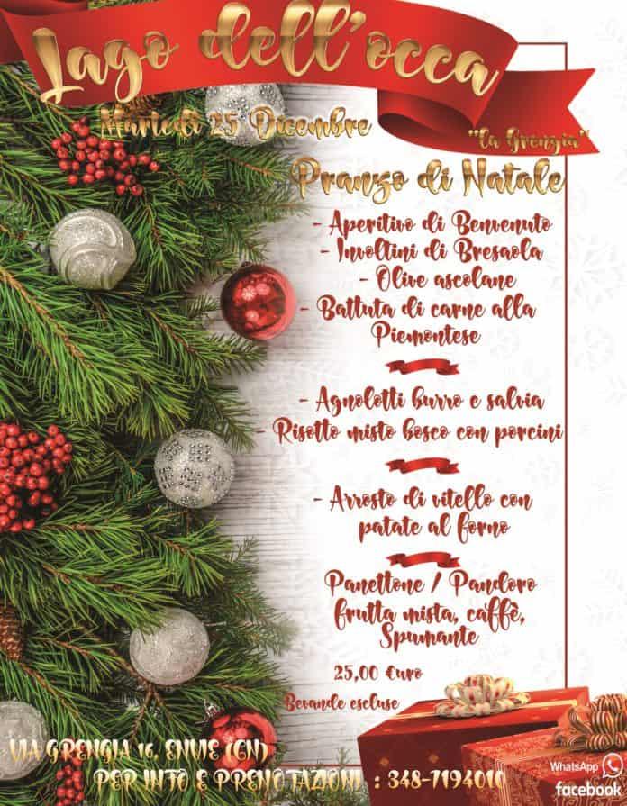 Natale 25.Pranzo Di Natale Al Lago Dell Occa Lagrengia Envie 25 Dicembre Whatsout