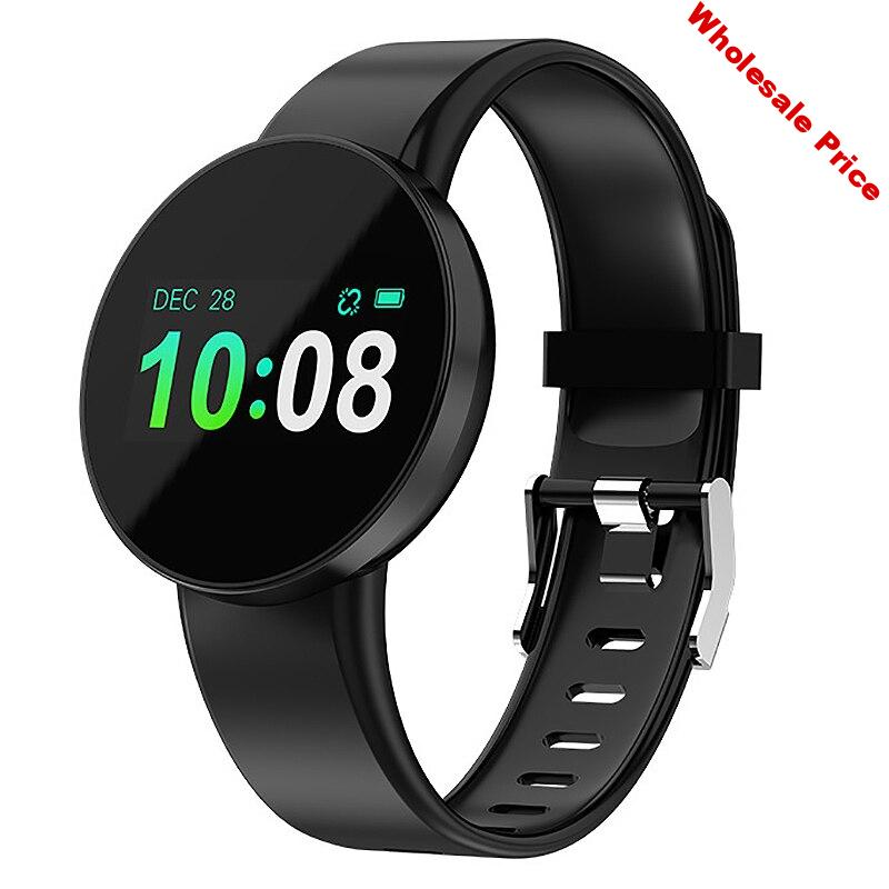 Fitness Tracker GPS Bluetooth Heart Rate Monitor Press Screen Smart Watch for Android IOS