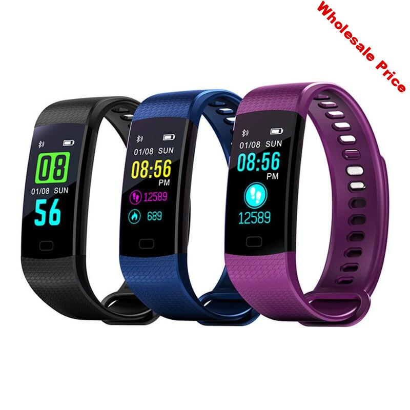 Y5 Bluetooth smart Bracelet Heart Rate Monitor step waterproof message urging Bluetooth men and women sports watch 2020 NEW