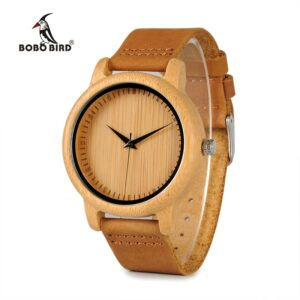 BOBO BIRD Timepieces Bamboo Couples Watches Lovers Handmade Natural Wood Luxury Wristwatches Ideal Gifts Items OEM Drop Shipping