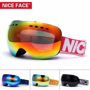Ski Goggles Women Men Outdoor Sports Professional Double Layers UV400 Anti-fog Adult Snow Skate Eyewear Skiing Snowboard Glasses