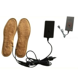 New Arrival  Fur Heating Insoles Winter Unisex USB Rechargeable Electric Heated Keep Warm Foot Shoes Plush Insoles Large Size